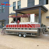Aluminum Pontoon Boats for fishing