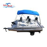 passenger boats with Bimini Top