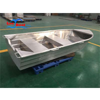 Aluminum Row Boat With Trailer