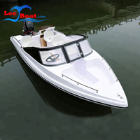 fiberglass fishing boat
